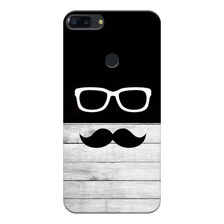 Mangomask OnePlus 5T Mobile Phone Case Back Cover Custom Printed Designer Series Black And White Hipster
