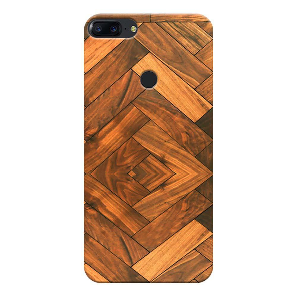competitive price c1cf2 96918 Mangomask OnePlus 5T Mobile Phone Case Back Cover Custom Printed Designer  Series Antique Walnut Wood