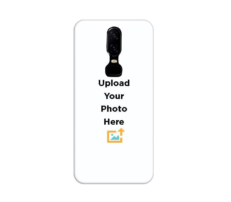 check out 9ec8c c1d71 Customisable Printed Designer OnePlus 6 Phone Case Back Cover