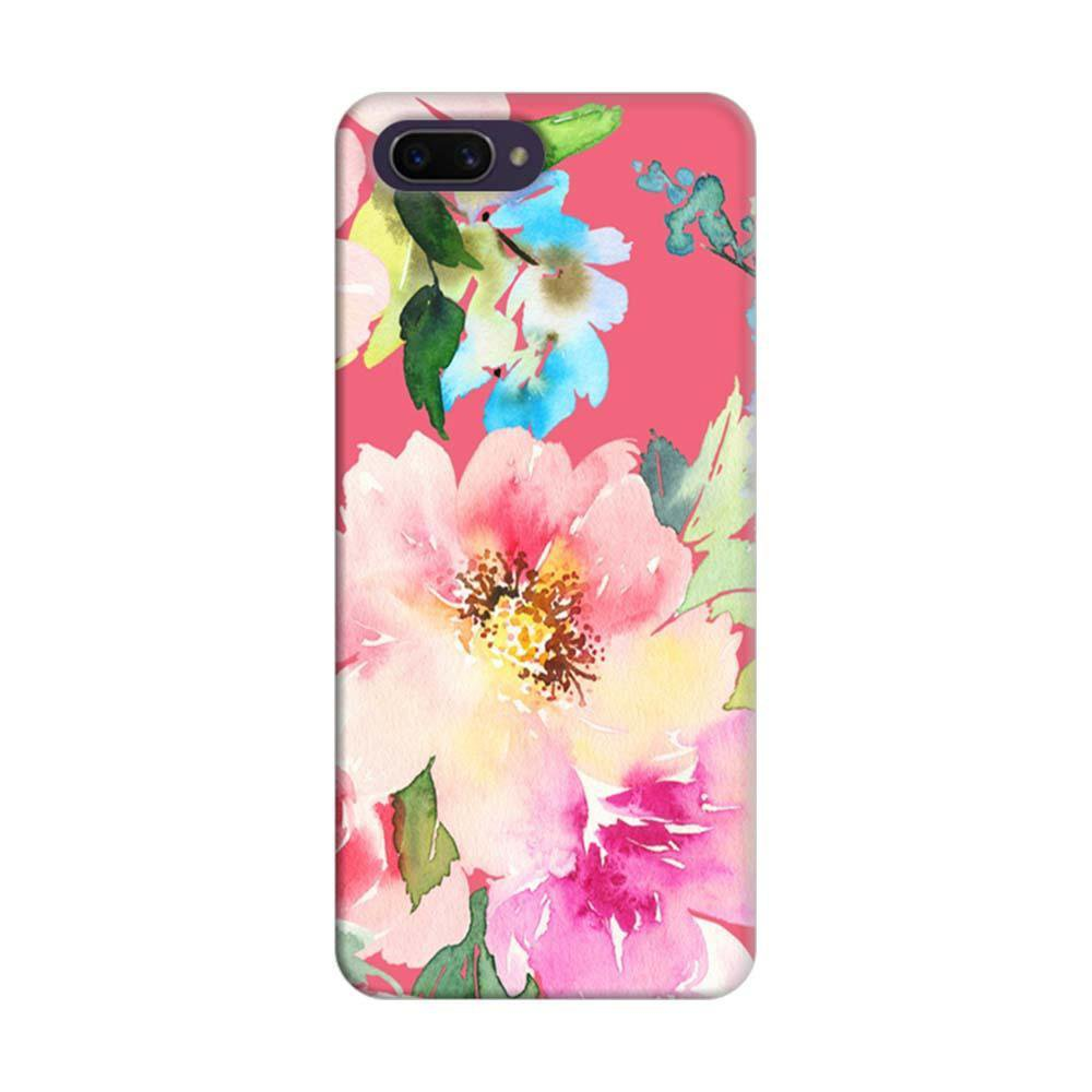 sneakers for cheap ef064 5fc02 Mangomask Oppo A3s Mobile Phone Case Back Cover Custom Printed Designer  Series Spring Floral