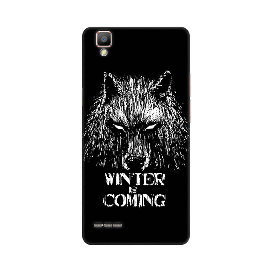 Mangomask Oppo F1 Plus Mobile Phone Case Back Cover Custom Printed Designer Series Wolf Winter Is Coming Game Of Thrones (Got) House Stark