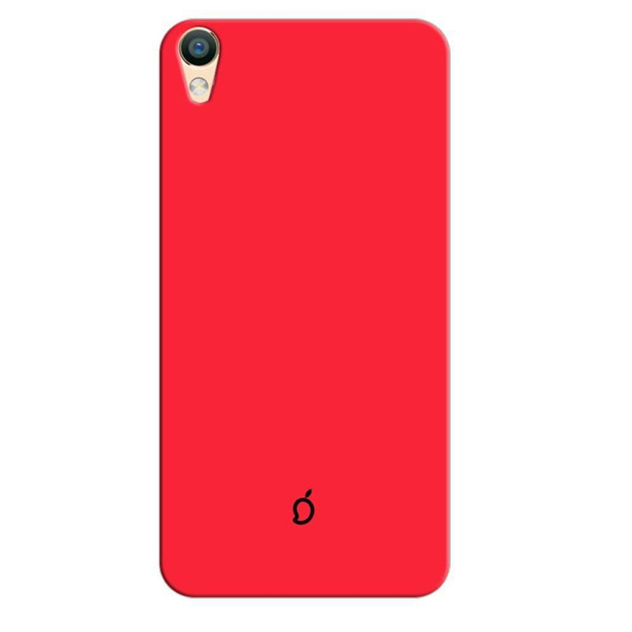 Mangomask Oppo F1 Plus Mobile Phone Case Back Cover Custom Printed Neon Series Carmine Red