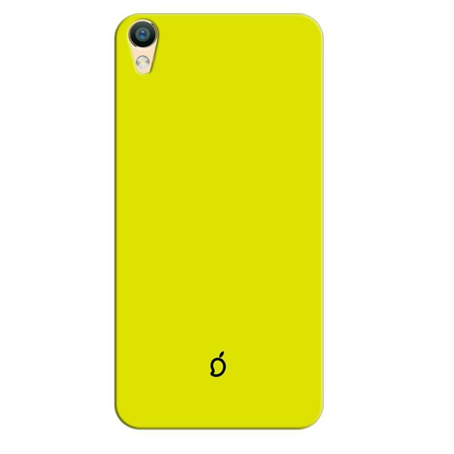 Mangomask Oppo F1 Plus Mobile Phone Case Back Cover Custom Printed Neon Series Corn Yellow