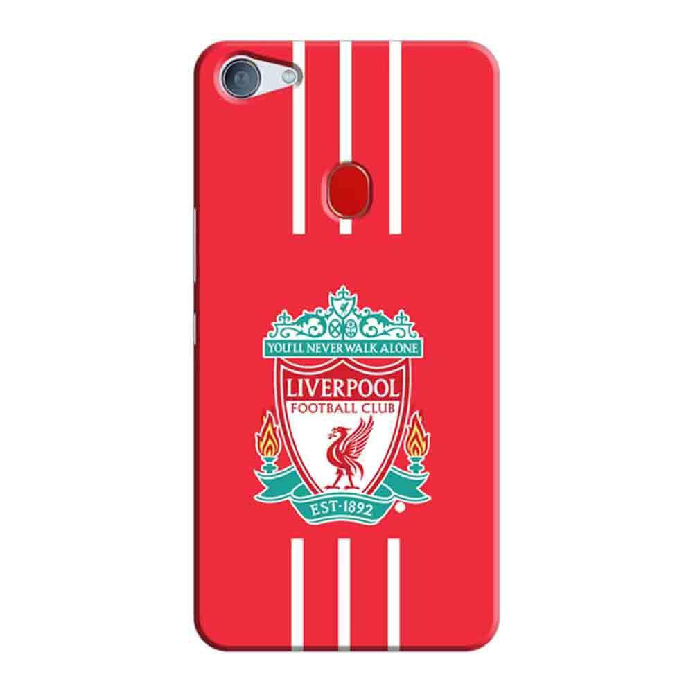 new products 9a819 1ed7f Mangomask Oppo F7 Mobile Phone Case Back Cover Custom Printed Designer  Series Liverpool FC Logo