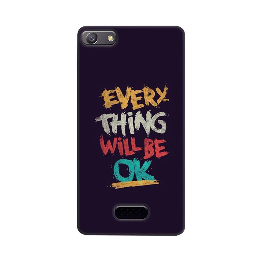 half off 55114 12007 Mangomask Oppo Neo 5 Mobile Phone Case Back Cover Custom Printed Designer  Series Every Thing Will Be Ok