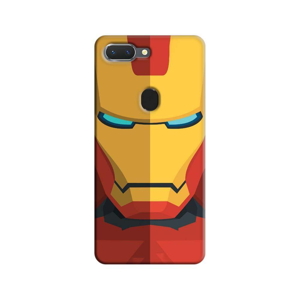 big sale 6bc5a 4c589 Mangomask Oppo Realme 2 Mobile Phone Case Back Cover Custom Printed  Designer Series Iron Man 04