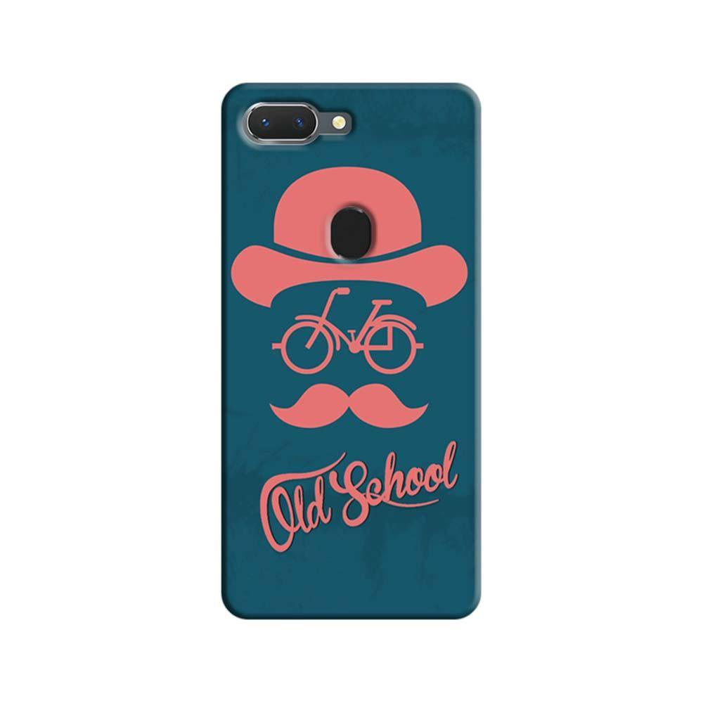 reputable site 0c510 6689c Mangomask Oppo Realme 2 Pro Mobile Phone Case Back Cover Custom Printed  Designer Series Old School Hipster