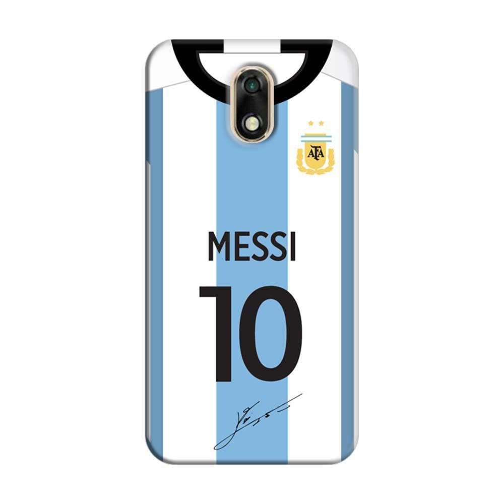 outlet store 46d55 7b40c Mangomask Panasonic Eluga Ray 700 Mobile Phone Case Back Cover Custom  Printed Designer Series Lionel Messi 10