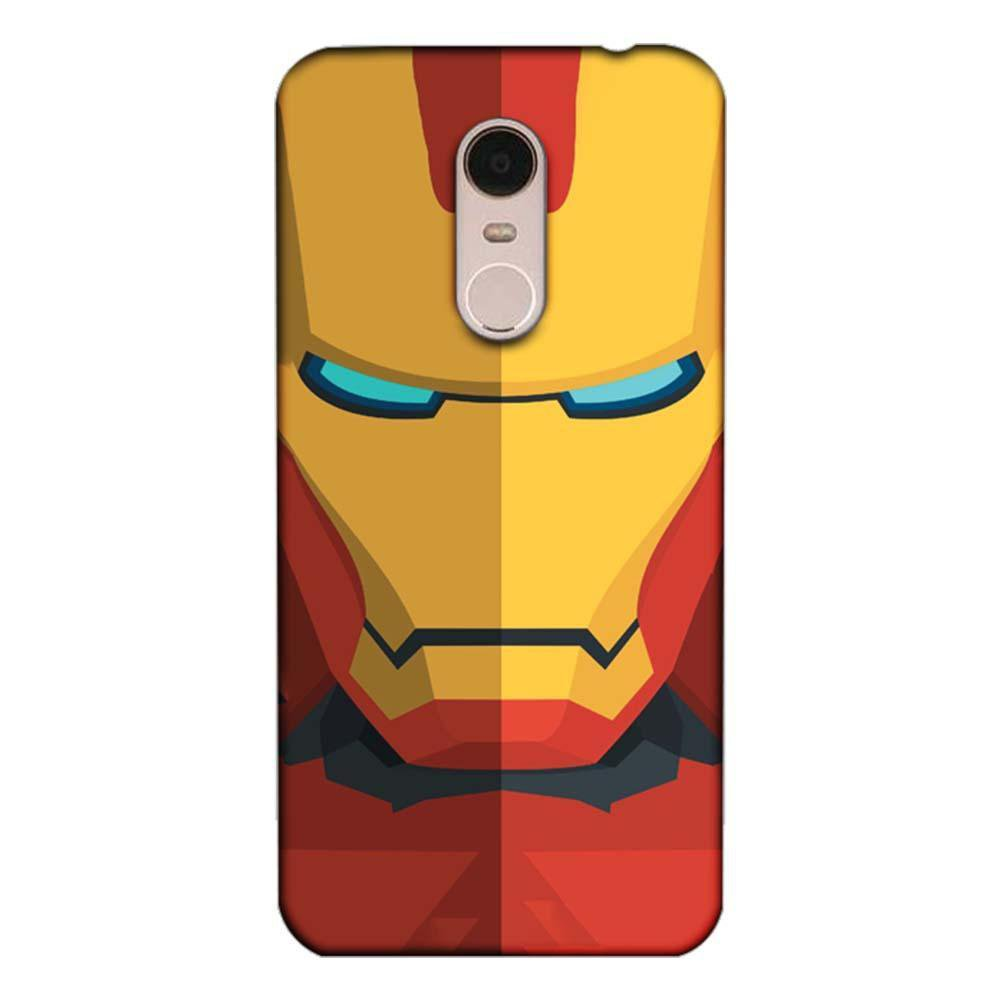 new products 60fce 0599e Mangomask Xiaomi Redmi Note 5 Mobile Phone Case Back Cover Custom Printed  Designer Series Iron Man 04