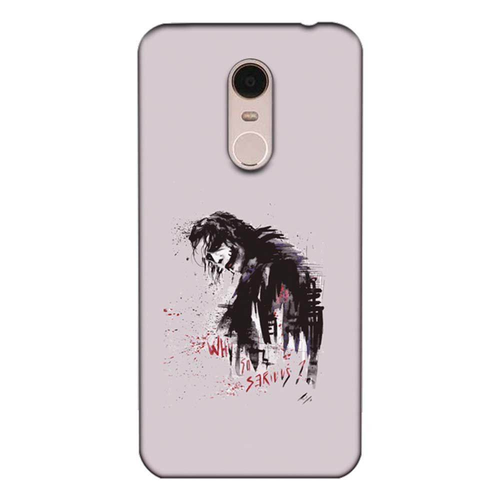 official photos b7bc2 7c095 Mangomask Xiaomi Redmi 5 Mobile Phone Case Back Cover Custom Printed  Designer Series Joker Why So Serious 02