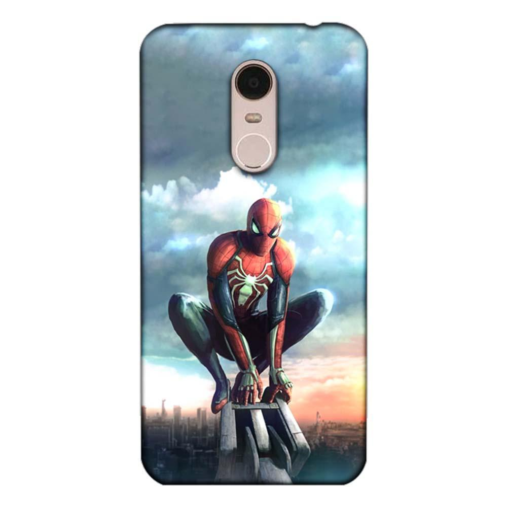 new style 8fb88 8a3ce Mangomask Xiaomi Redmi 5 Mobile Phone Case Back Cover Custom Printed  Designer Series Spiderman 02