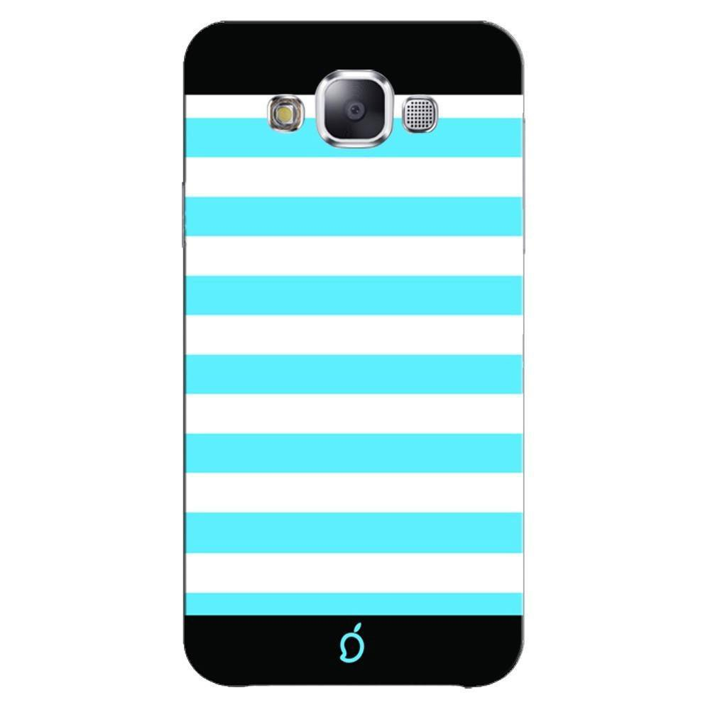 Samsung Galaxy E7 Mobile Phone Cases And Back Covers Mangomask Case Cover Custom Printed Neon Series Deep Sky Blue