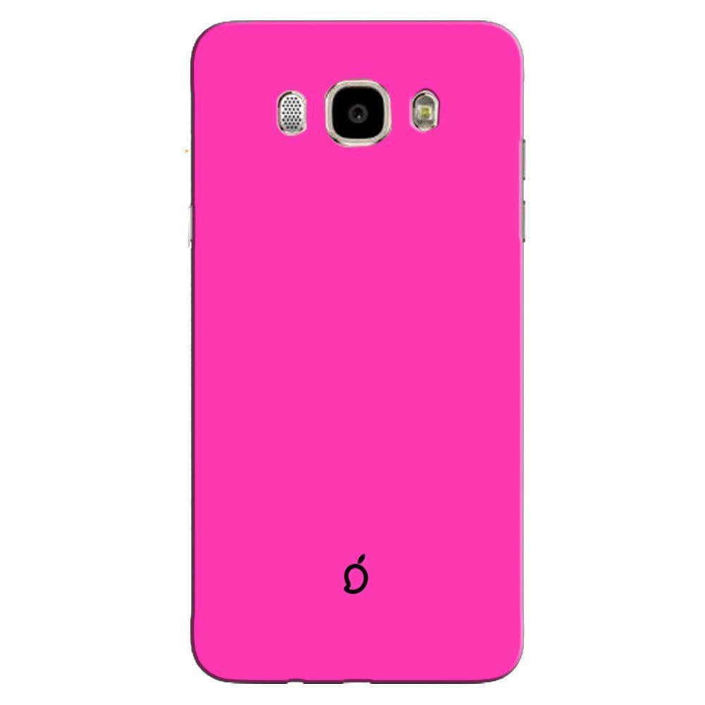 best service 59022 4d2ec Mangomask Samsung Galaxy J5 2016 Mobile Phone Case Back Cover Custom  Printed Neon Series Brink pink