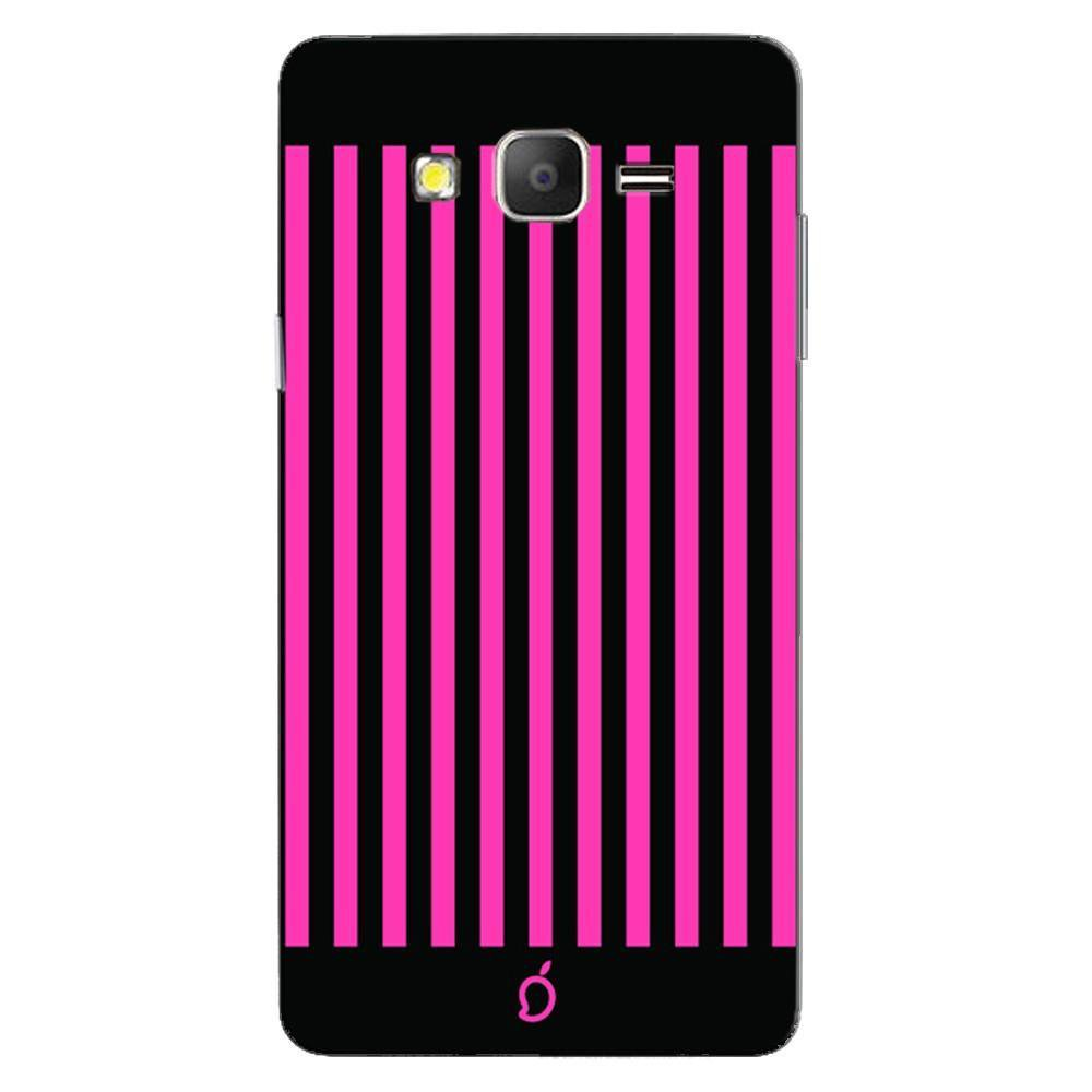 buy popular 6d2b2 e06d8 Mangomask Samsung Galaxy On7 Mobile Phone Case Back Cover Custom Printed  Neon Series Brink pink Striped Eight