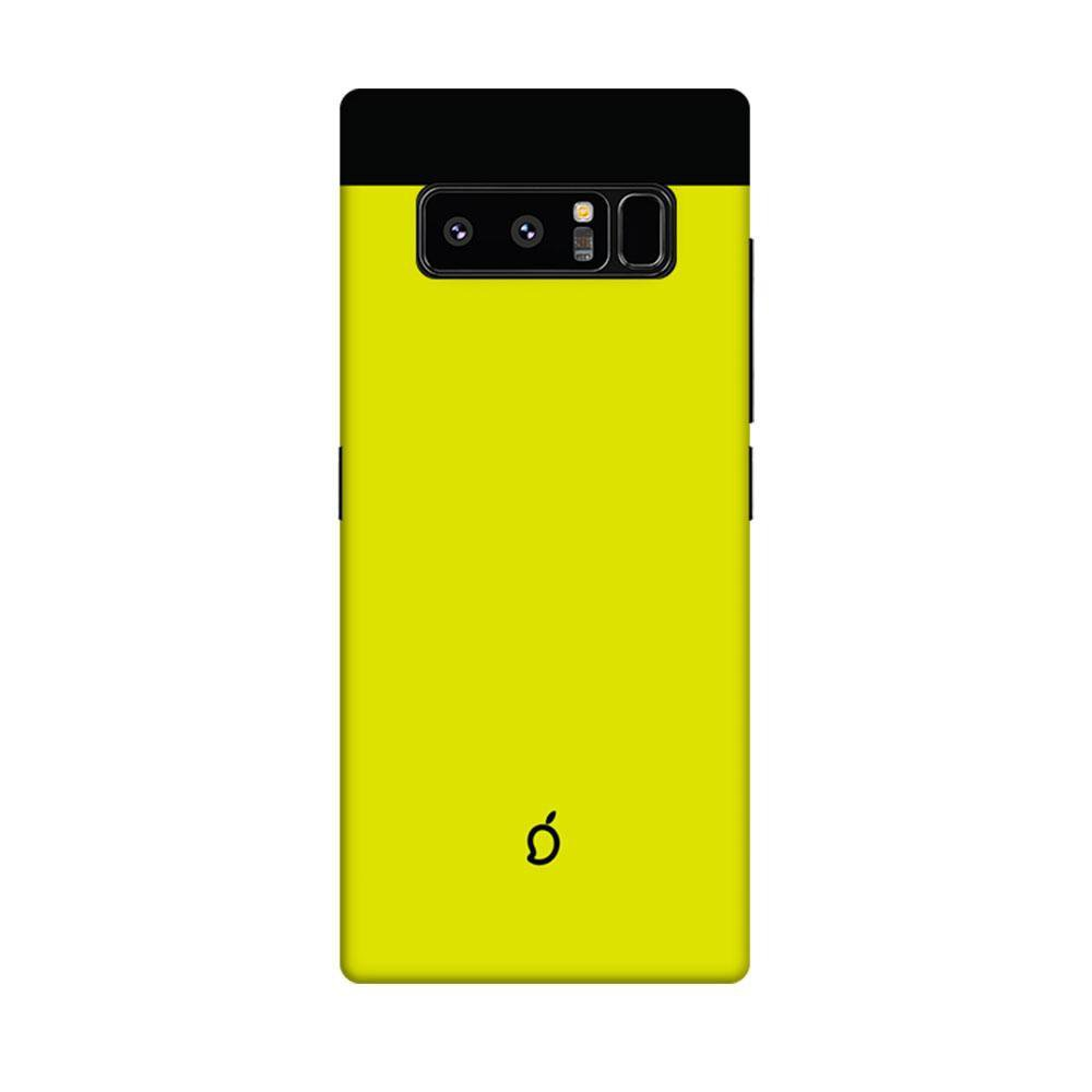 promo code d597f 5d7a3 Mangomask Samsung Galaxy Note 8 Mobile Phone Case Back Cover Custom Printed  Neon Series Corn Yellow Striped 1