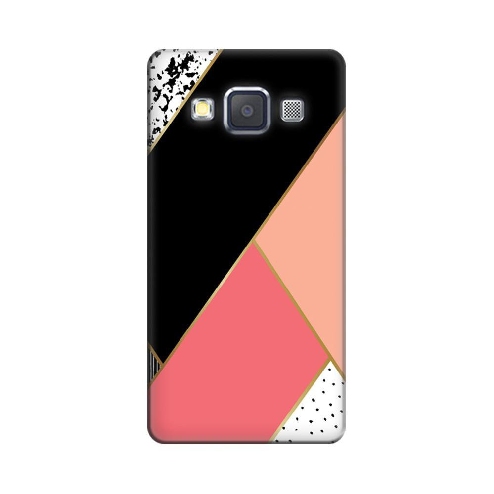 half off acb32 6e17d Mangomask Samsung Galaxy A5 Mobile Phone Case Back Cover Custom Printed  Designer Series Black And Pink Cute Pattern