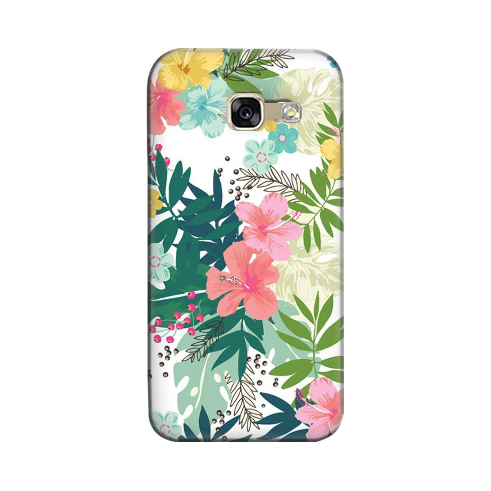 reputable site 87b6c 79c81 Mangomask Samsung Galaxy A5 2017 Mobile Phone Case Back Cover Custom  Printed Designer Series Best Floral Pattern Two