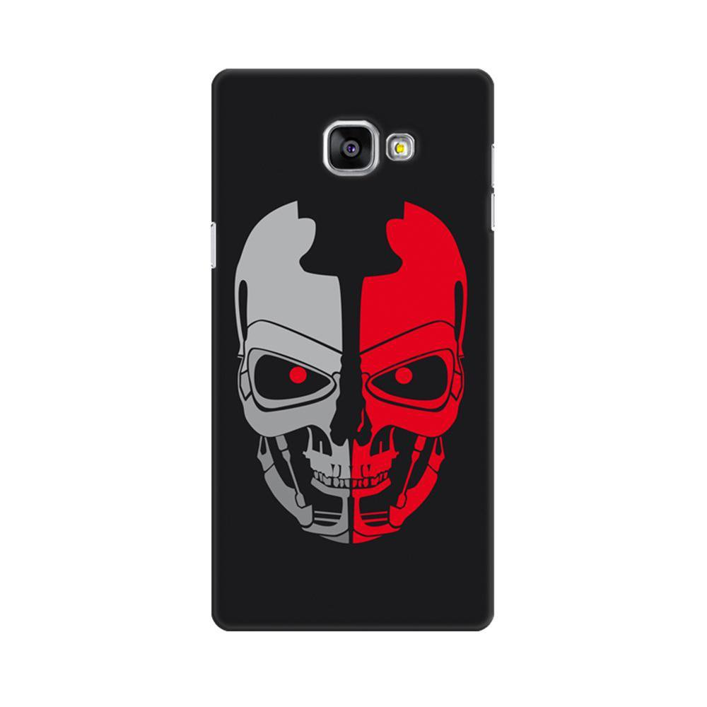 sneakers for cheap b8ffb 625dc Mangomask Samsung Galaxy A7 2016 (A710 Model) Mobile Phone Case Back Cover  Custom Printed Designer Series Scary Red Skull
