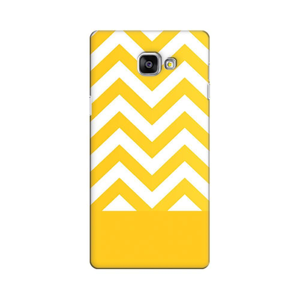 hot sale online a7b8e 71caa Mangomask Samsung Galaxy A7 2016 (A710 Model) Mobile Phone Case Back Cover  Custom Printed Designer Series Yellow White Pattern