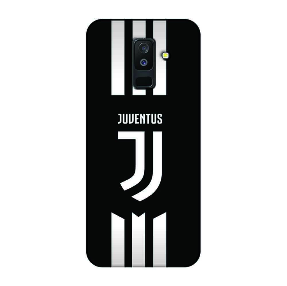 new style 5da31 d8056 Mangomask Samsung Galaxy A6 Plus Mobile Phone Case Back Cover Custom  Printed Designer Series Juventus Logo