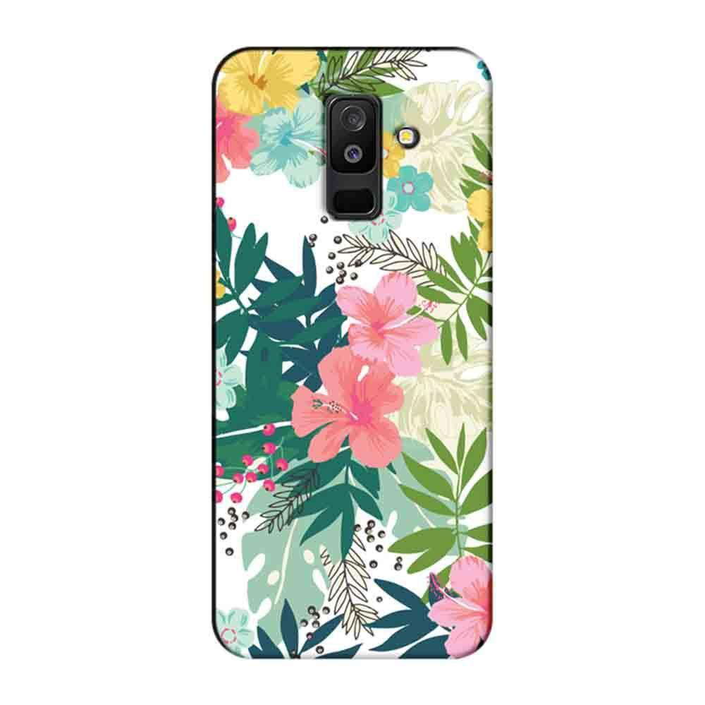 new concept 82ffd 9ec56 Mangomask Samsung Galaxy A6 Plus Mobile Phone Case Back Cover Custom  Printed Designer Series Best Floral Pattern Two