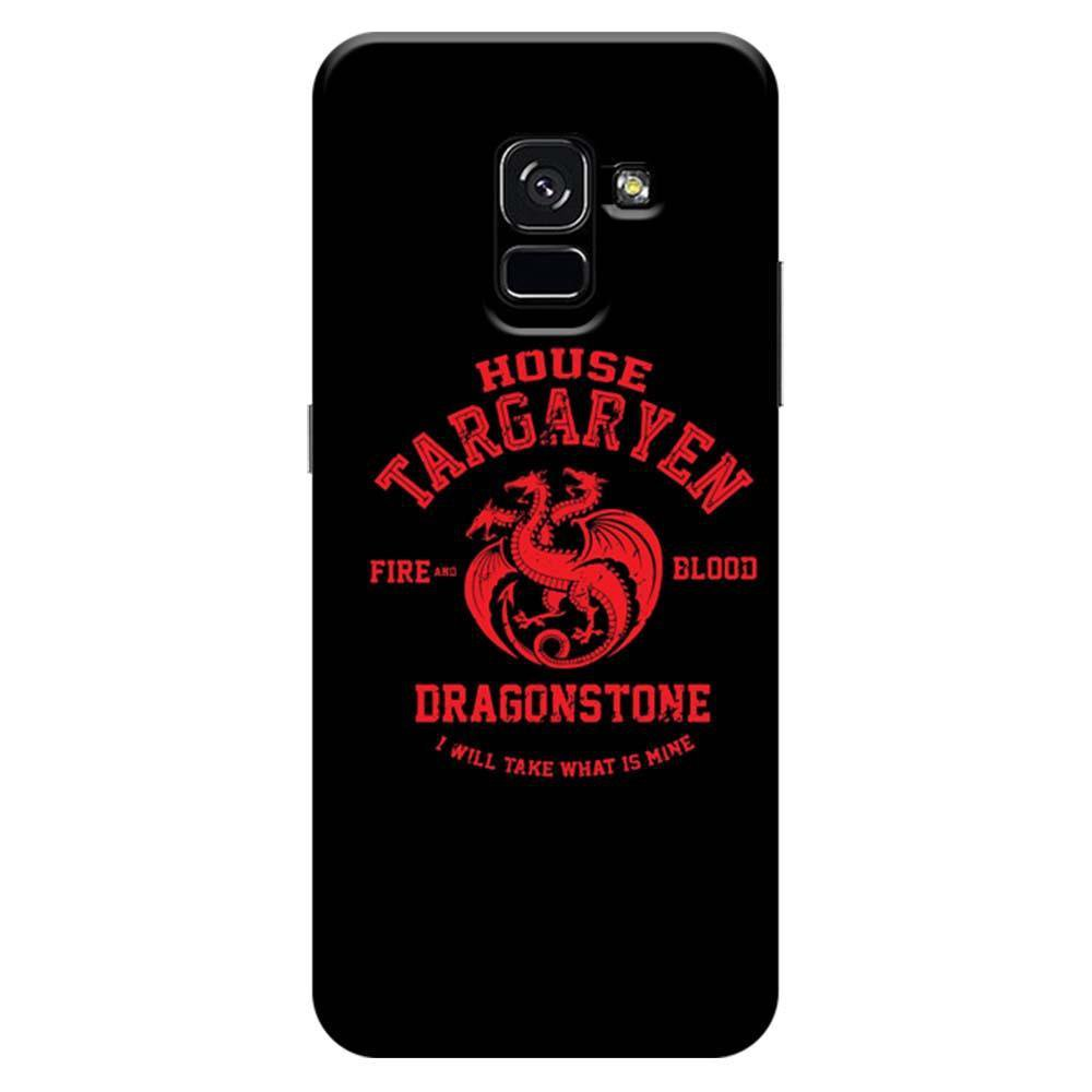 sale retailer 48323 cacc7 Mangomask Samsung Galaxy A8 Plus Mobile Phone Case Back Cover Custom  Printed Designer Series Game Of Thrones (Got) House Targaryen