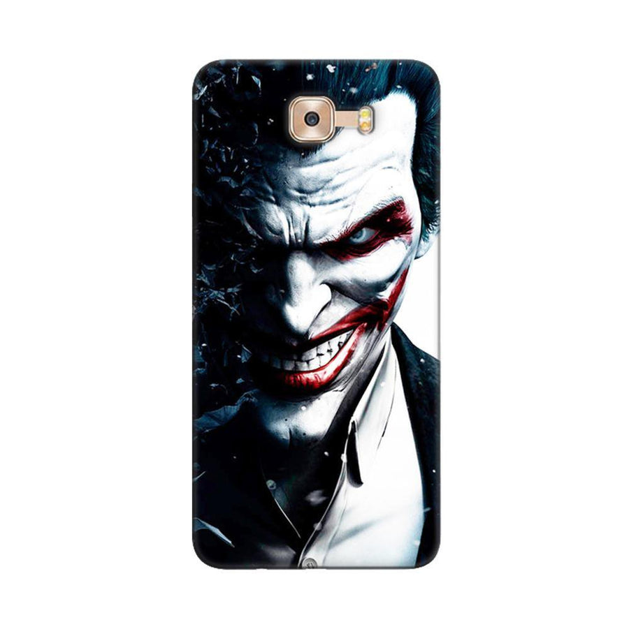 Mangomask Samsung Galaxy C9 Pro Mobile Phone Case Back Cover Custom Printed Designer Series Red Eye Joker
