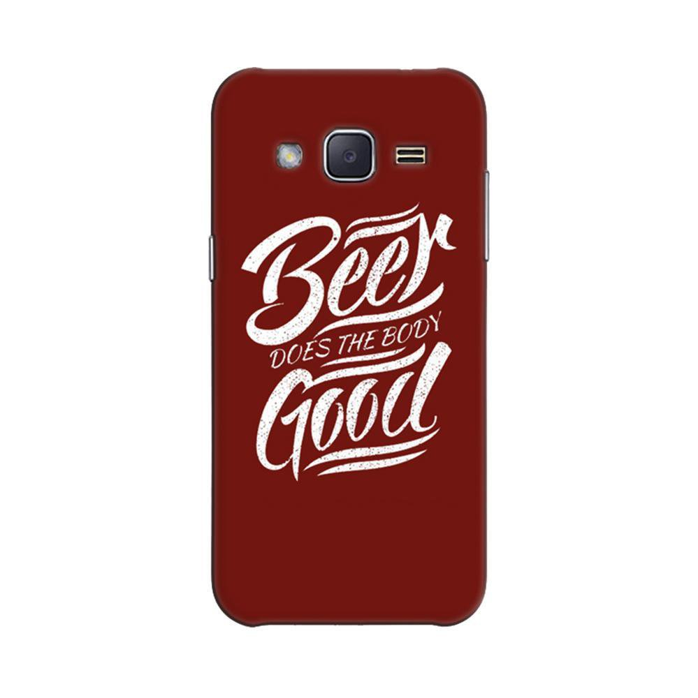 new concept f6308 68a58 Mangomask Samsung Galaxy Core Prime Mobile Phone Case Back Cover Custom  Printed Designer Series Beer Is Good