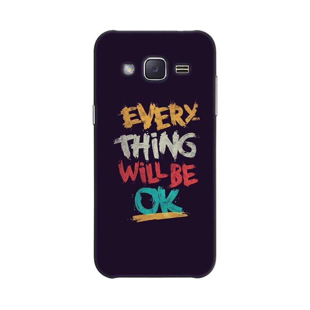 new concept dad0d f298d Mangomask Samsung Galaxy Grand prime Mobile Phone Case Back Cover Custom  Printed Designer Series Every Thing Will Be Ok