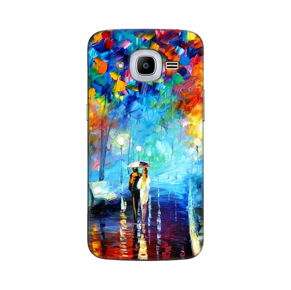 detailed look bb0fa 5117a Mangomask Samsung Galaxy J2 2016 ( J210 Model) / J2 Pro Mobile Phone Case  Back Cover Custom Printed Designer Series Romantic Couple Walk