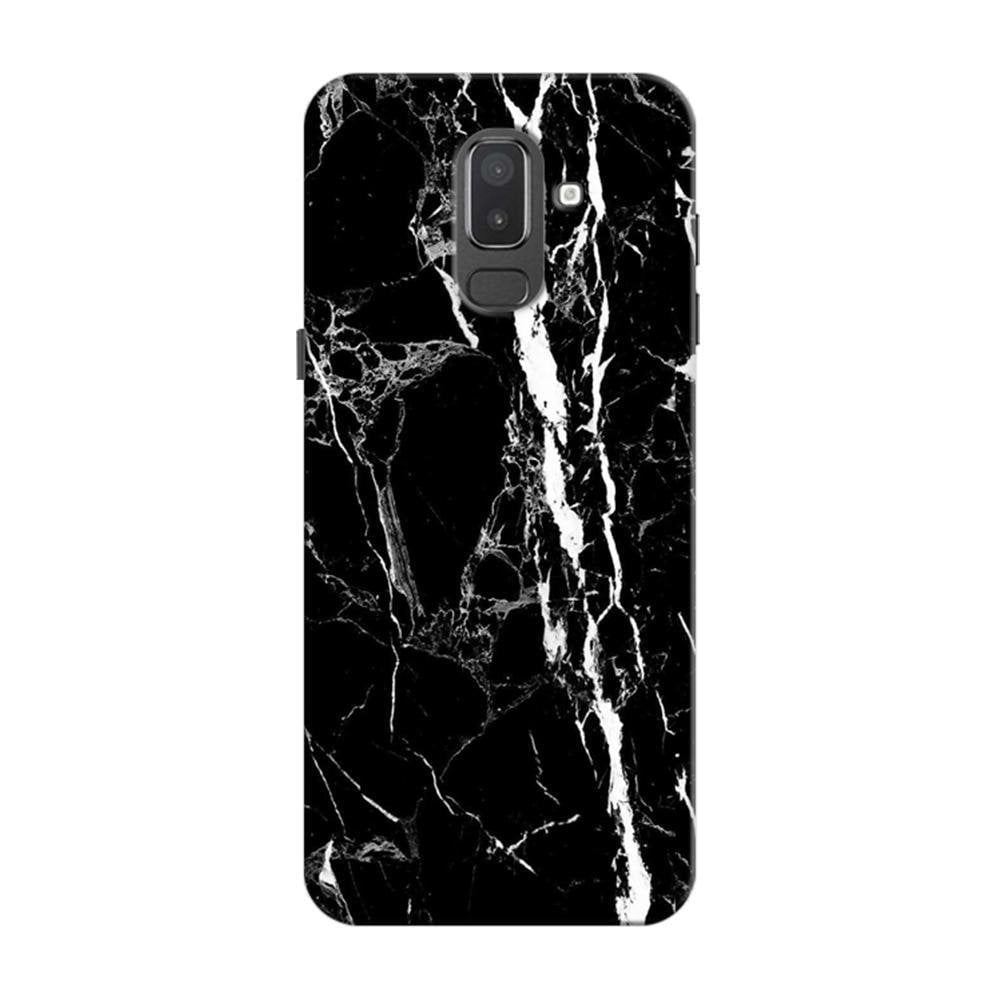 best cheap fa86c 3b90a Mangomask Samsung Galaxy J6 (Infinity Displays) Mobile Phone Case Back  Cover Custom Printed Designer Series Black And White Marble