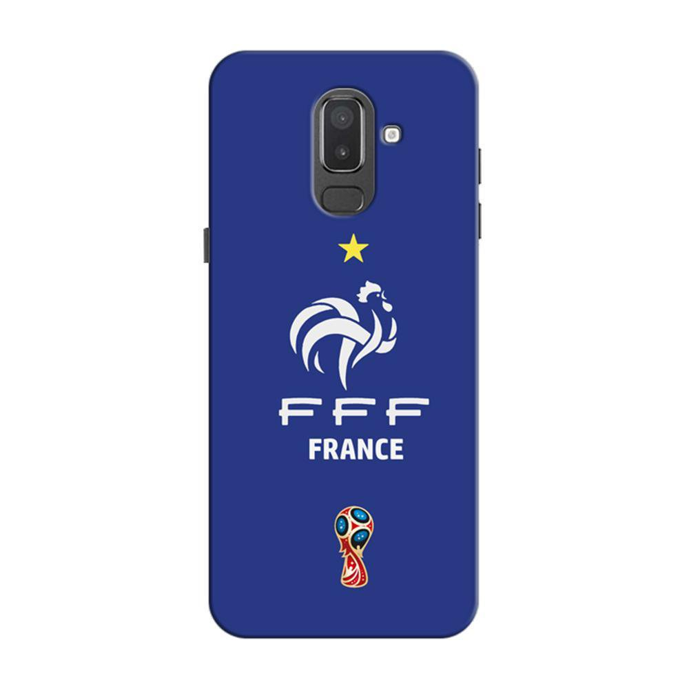 new product e2e9c e68f3 Mangomask Samsung Galaxy J6 (Infinity Displays) Mobile Phone Case Back  Cover Custom Printed Designer Series France Logo