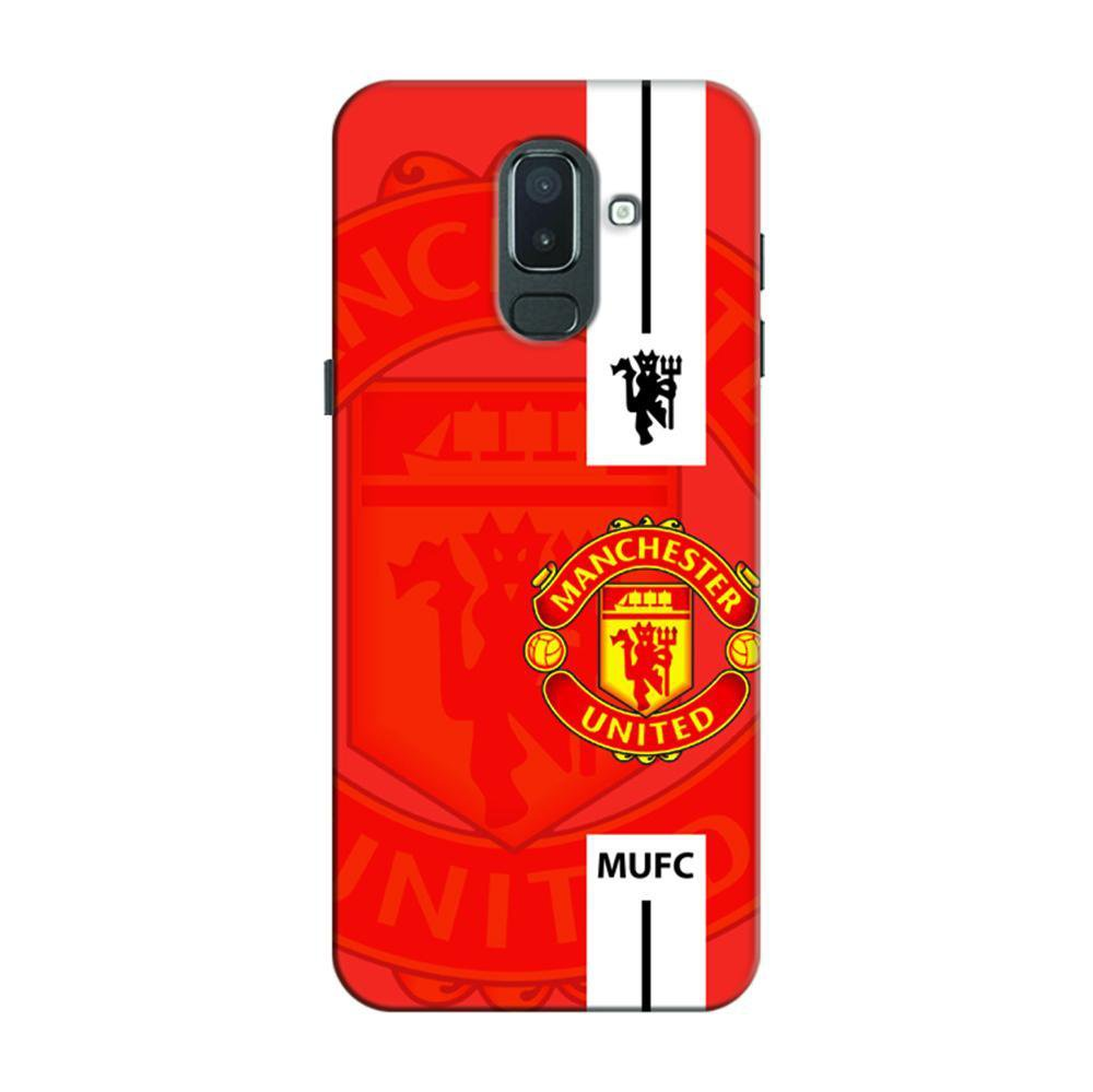 cheaper 89676 8eb8e Mangomask Samsung Galaxy J6 (Infinity Displays) Mobile Phone Case Back  Cover Custom Printed Designer Series Manchester United Logo