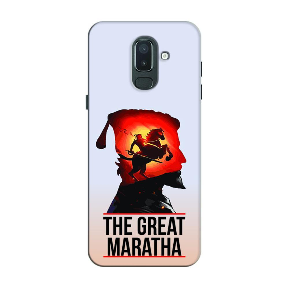new styles 27ca7 73610 Mangomask Samsung Galaxy J6 (Infinity Displays) Mobile Phone Case Back  Cover Custom Printed Designer Series Chhatrapati Shivaji The Maratha