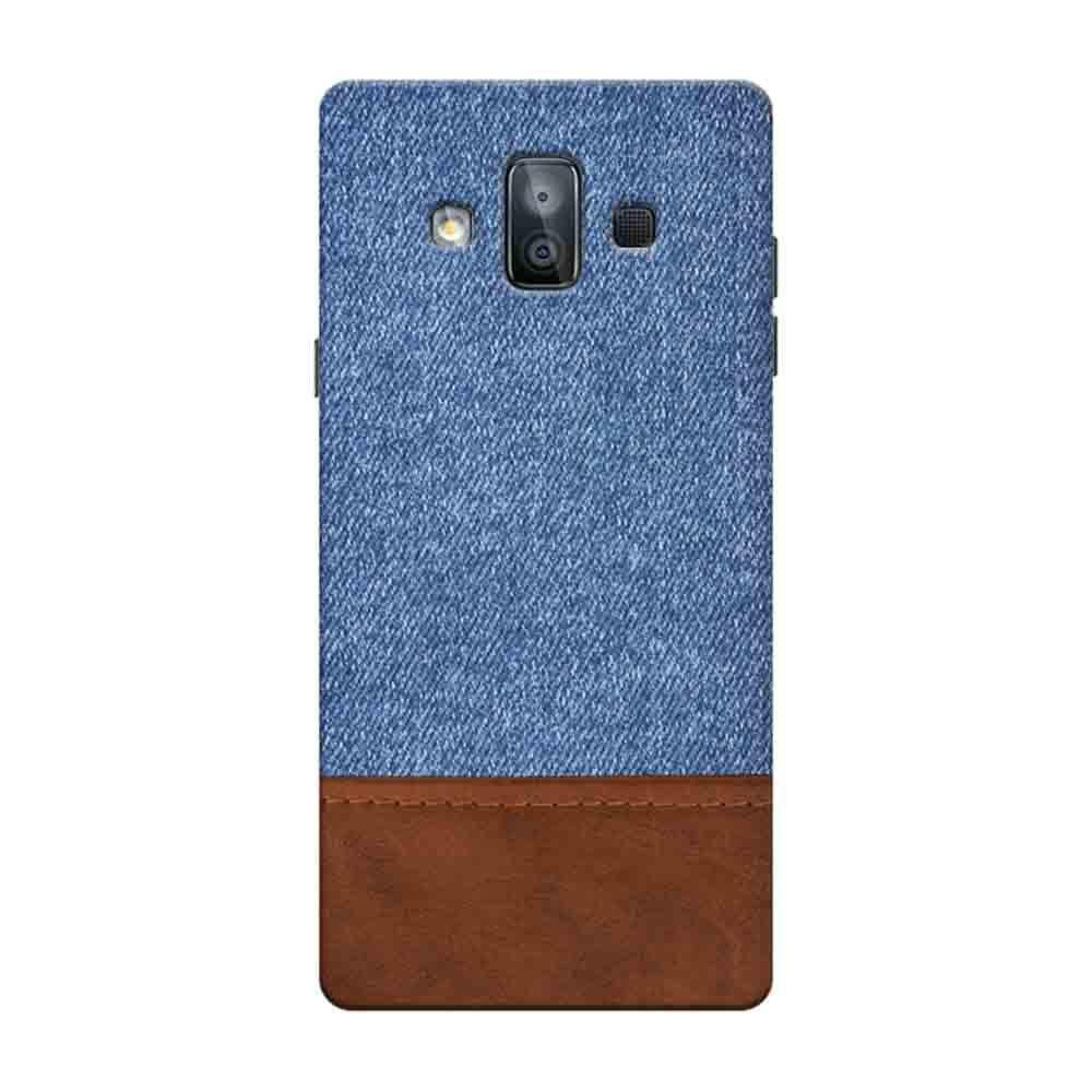 best website 10469 815bc Mangomask Samsung Galaxy J7 Duo Mobile Phone Case Back Cover Custom Printed  Designer Series Blue Leather Jeans