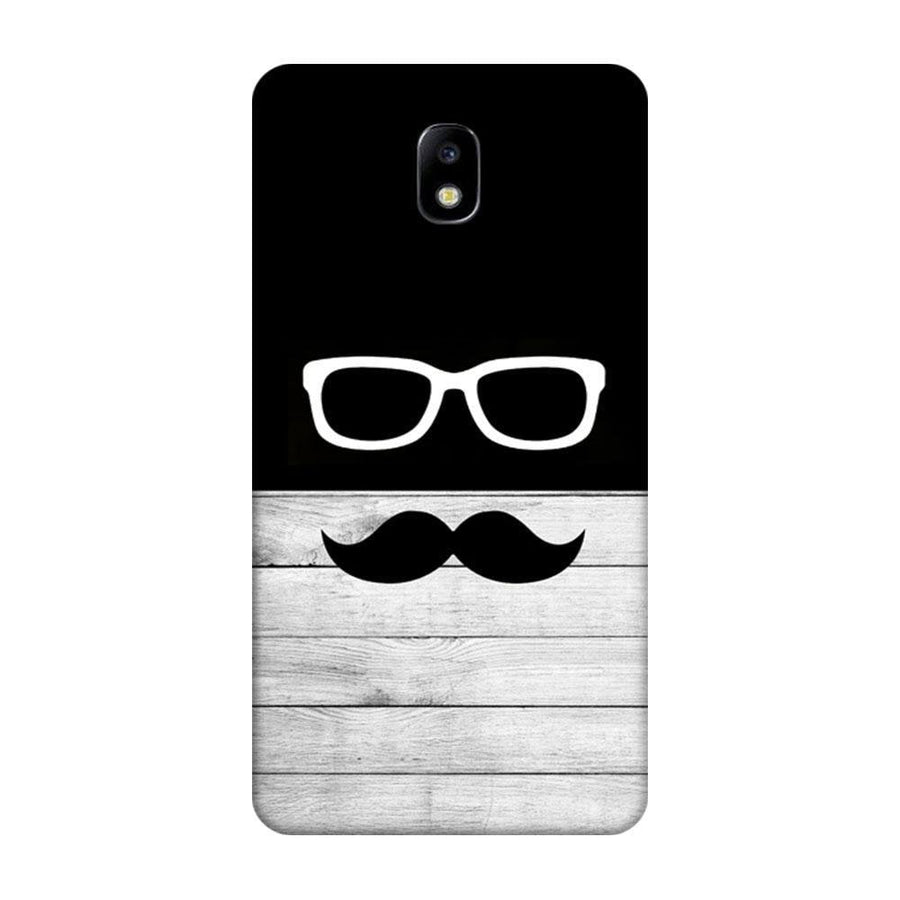 Mangomask Samsung Galaxy J7 Pro Mobile Phone Case Back Cover Custom Printed Designer Series Black And White Hipster