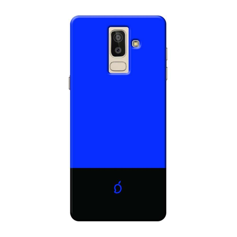 official photos 940f4 20bd0 Mangomask SAMSUNG J8 2018 Mobile Phone Case Back Cover Custom Printed Neon  Series Royal Blue Striped 3