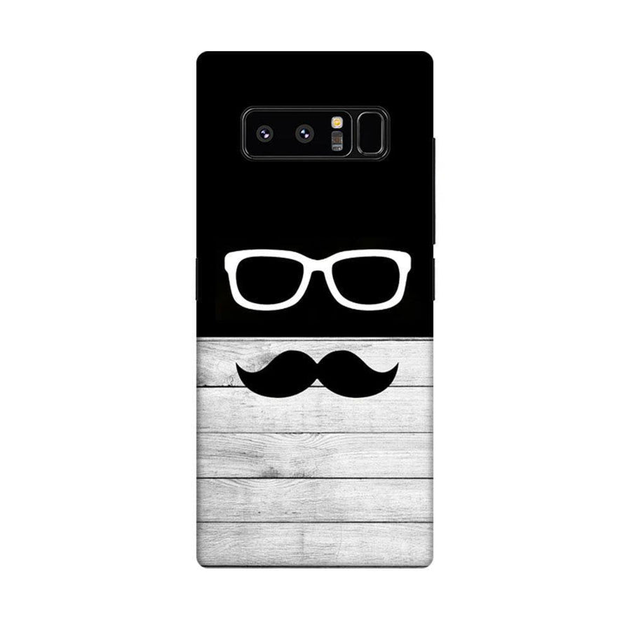 Mangomask Samsung Galaxy Note 8 Mobile Phone Case Back Cover Custom Printed Designer Series Black And White Hipster