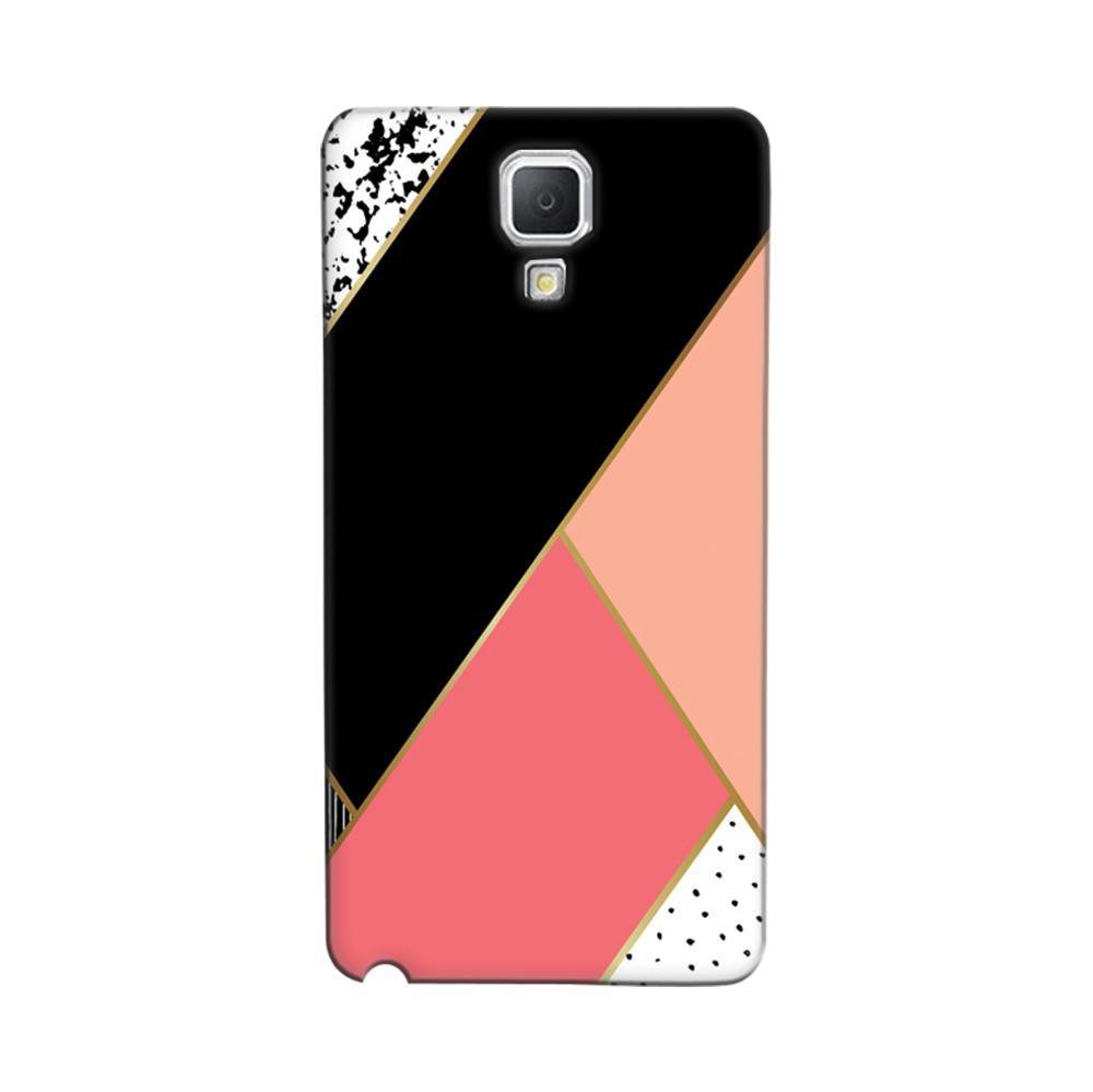 quality design cd7e3 a555e Mangomask Samsung Galaxy Note 3 Neo Mobile Phone Case Back Cover Custom  Printed Designer Series Black And Pink Cute Pattern