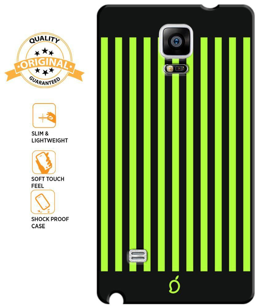 new arrival c850c 54863 Mangomask Samsung Galaxy Note 4 Mobile Phone Case Back Cover Custom Printed  Neon Series Inchworm Green Striped Eight