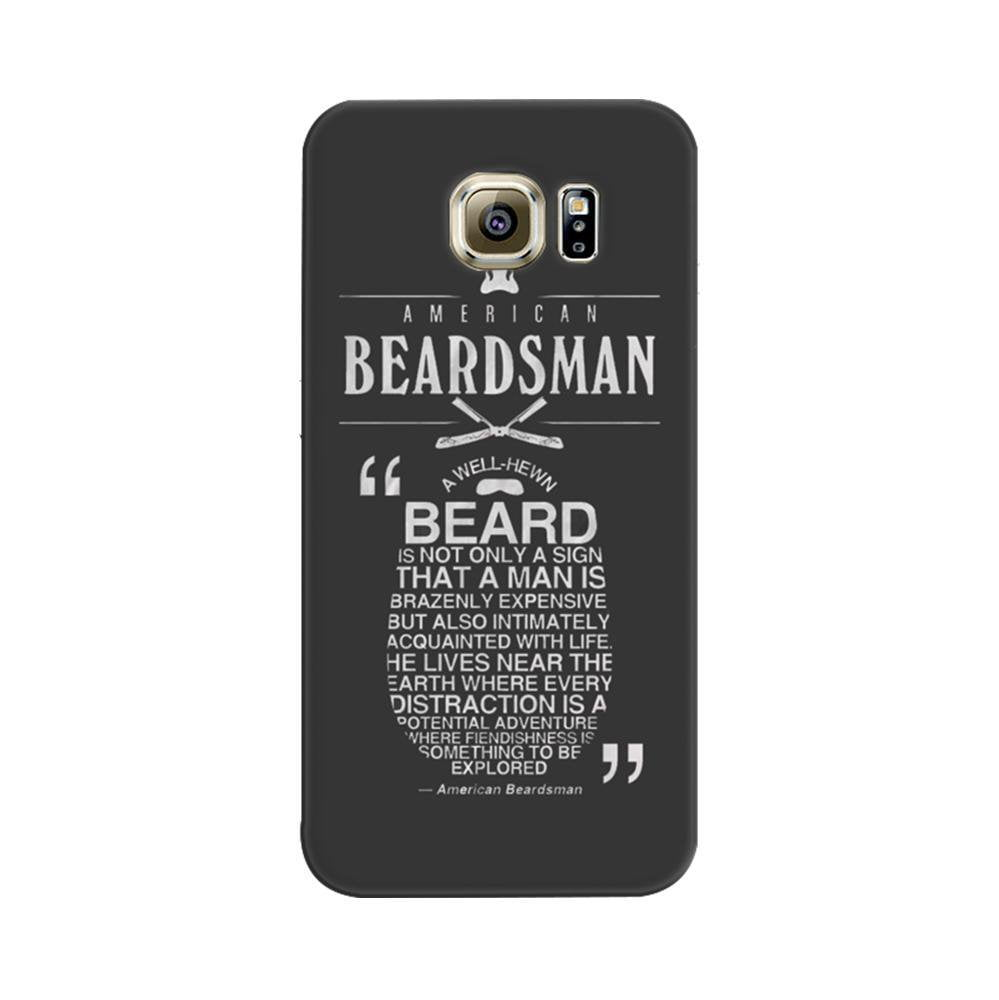 new styles 8b683 c8436 Mangomask Samsung Galaxy S7 Edge Mobile Phone Case Back Cover Custom  Printed Designer Series Beards Man