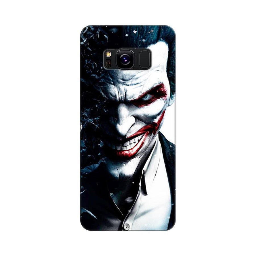 Mangomask Samsung Galaxy S8 Mobile Phone Case Back Cover Custom Printed Designer Series Red Eye Joker