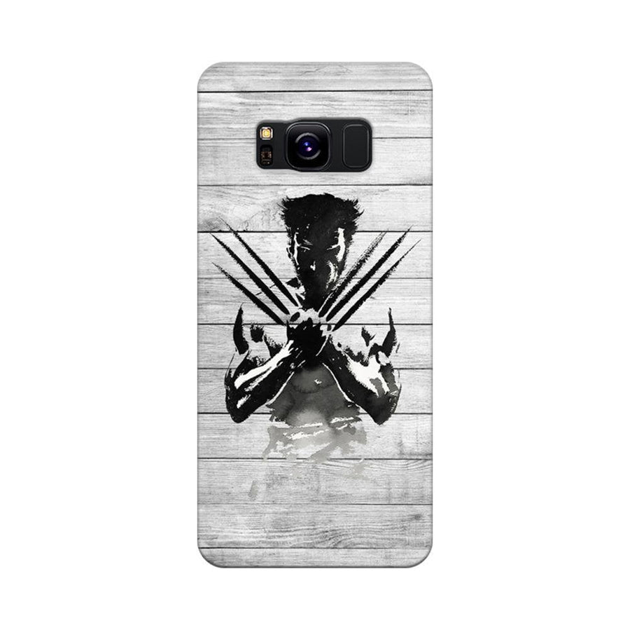 Mangomask Samsung Galaxy S8 Mobile Phone Case Back Cover Custom Printed Designer Series Wolverine