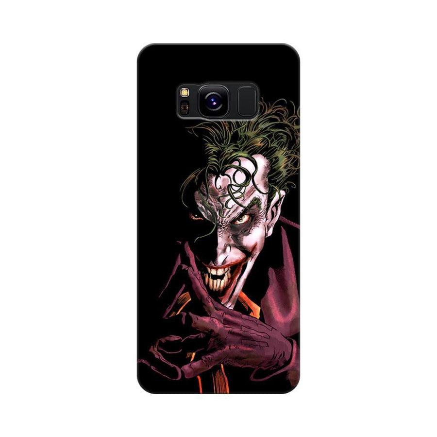 Mangomask Samsung Galaxy S8 Mobile Phone Case Back Cover Custom Printed Designer Series Comic Joker