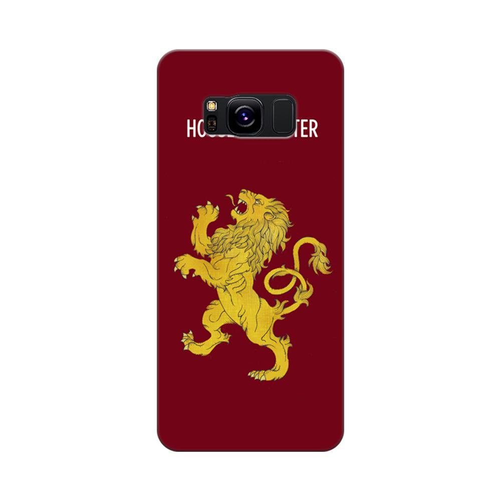 quality design 3b751 f932a Mangomask Samsung Galaxy S8 Mobile Phone Case Back Cover Custom Printed  Designer Series Game Of Thrones (Got) House Lannister