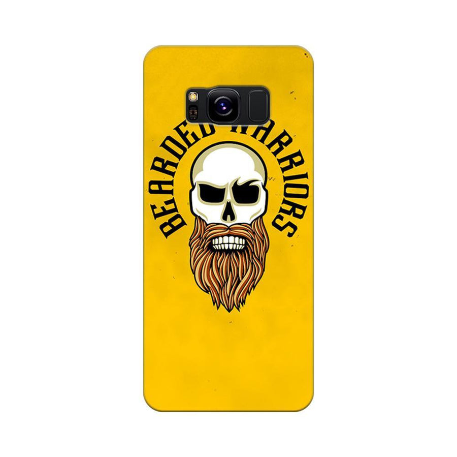 Mangomask Samsung Galaxy S8 Mobile Phone Case Back Cover Custom Printed Designer Series Beard Warriors