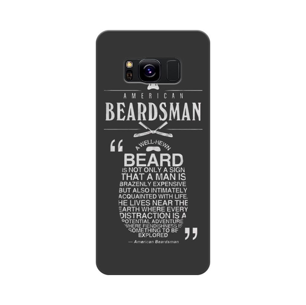 factory authentic d4329 c2e8e Mangomask Samsung Galaxy S8 Mobile Phone Case Back Cover Custom Printed  Designer Series Beards Man