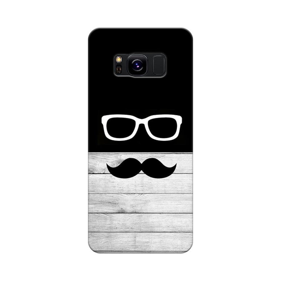 Mangomask Samsung Galaxy S8 Mobile Phone Case Back Cover Custom Printed Designer Series Black And White Hipster