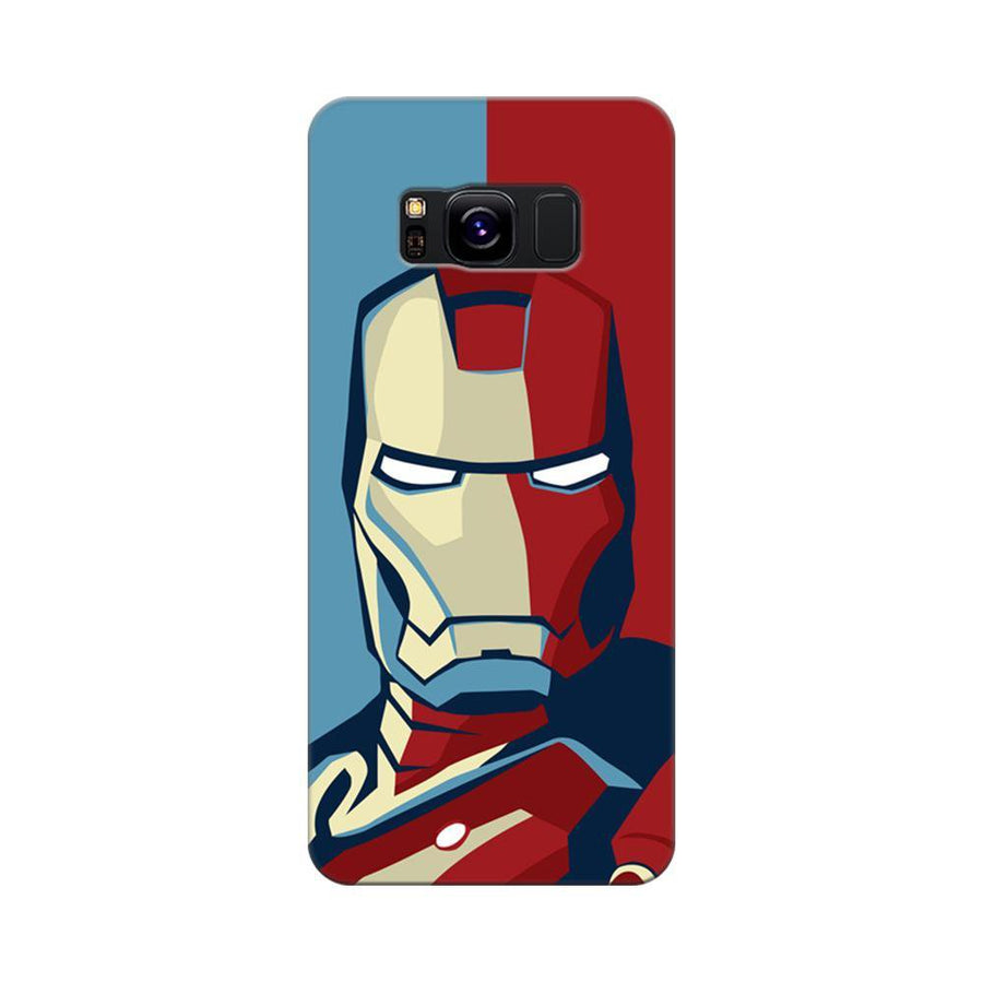 Mangomask Samsung Galaxy S8 Mobile Phone Case Back Cover Custom Printed Designer Series Comic Iron Man