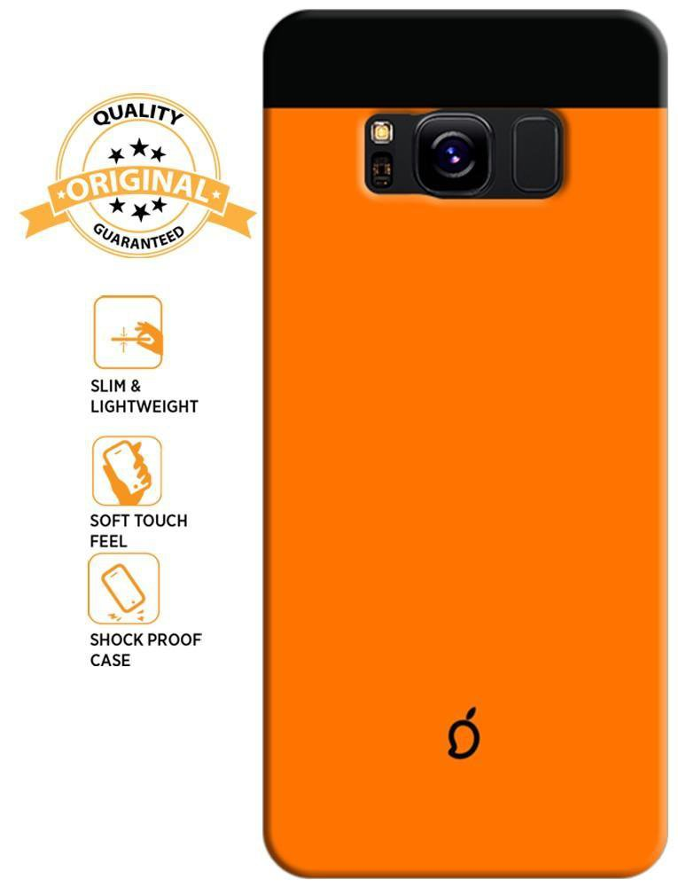 orange samsung s8 case
